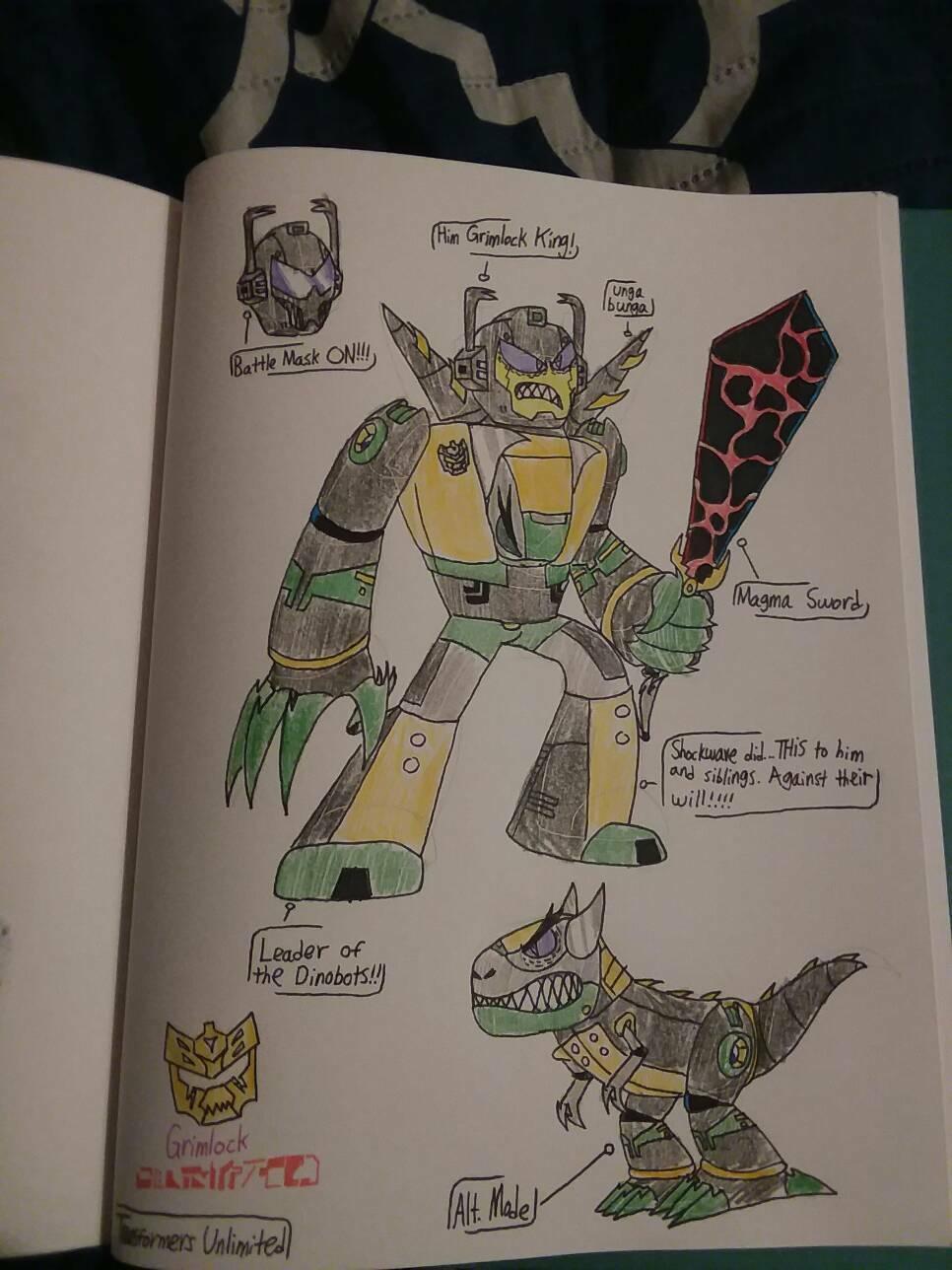 Transformers Unlimited: Grimlock
