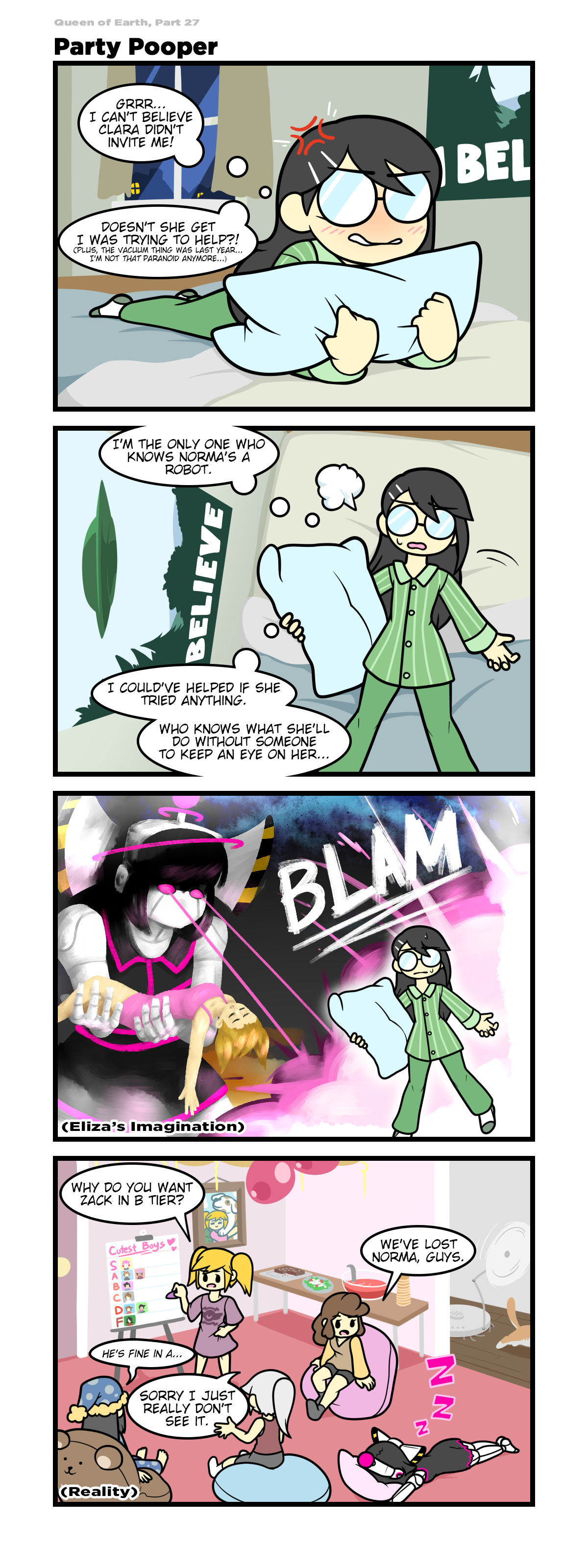 Queen of Earth - Party Pooper