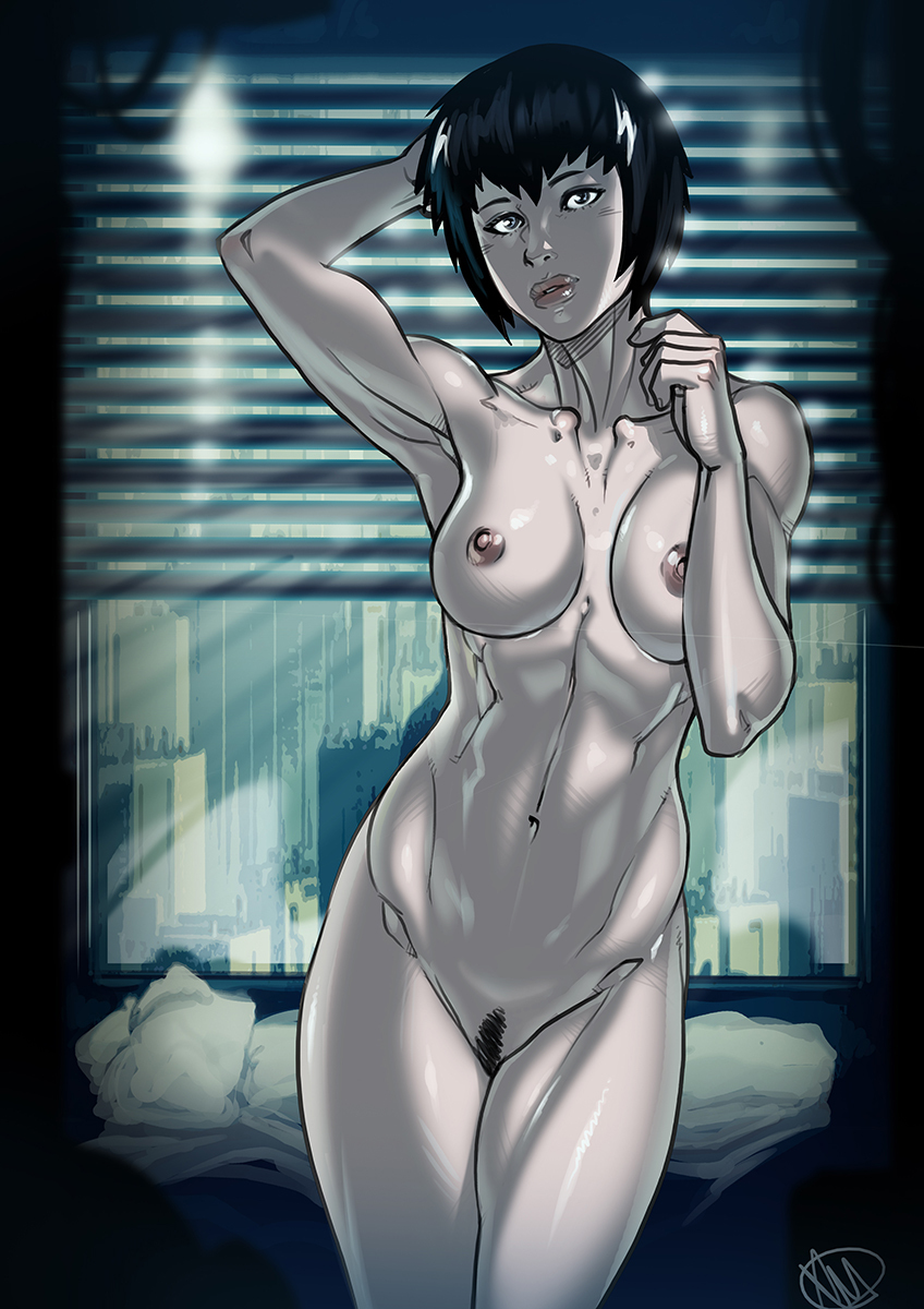 Ghost in the Shell Motoko NSFW Patreon Public Post
