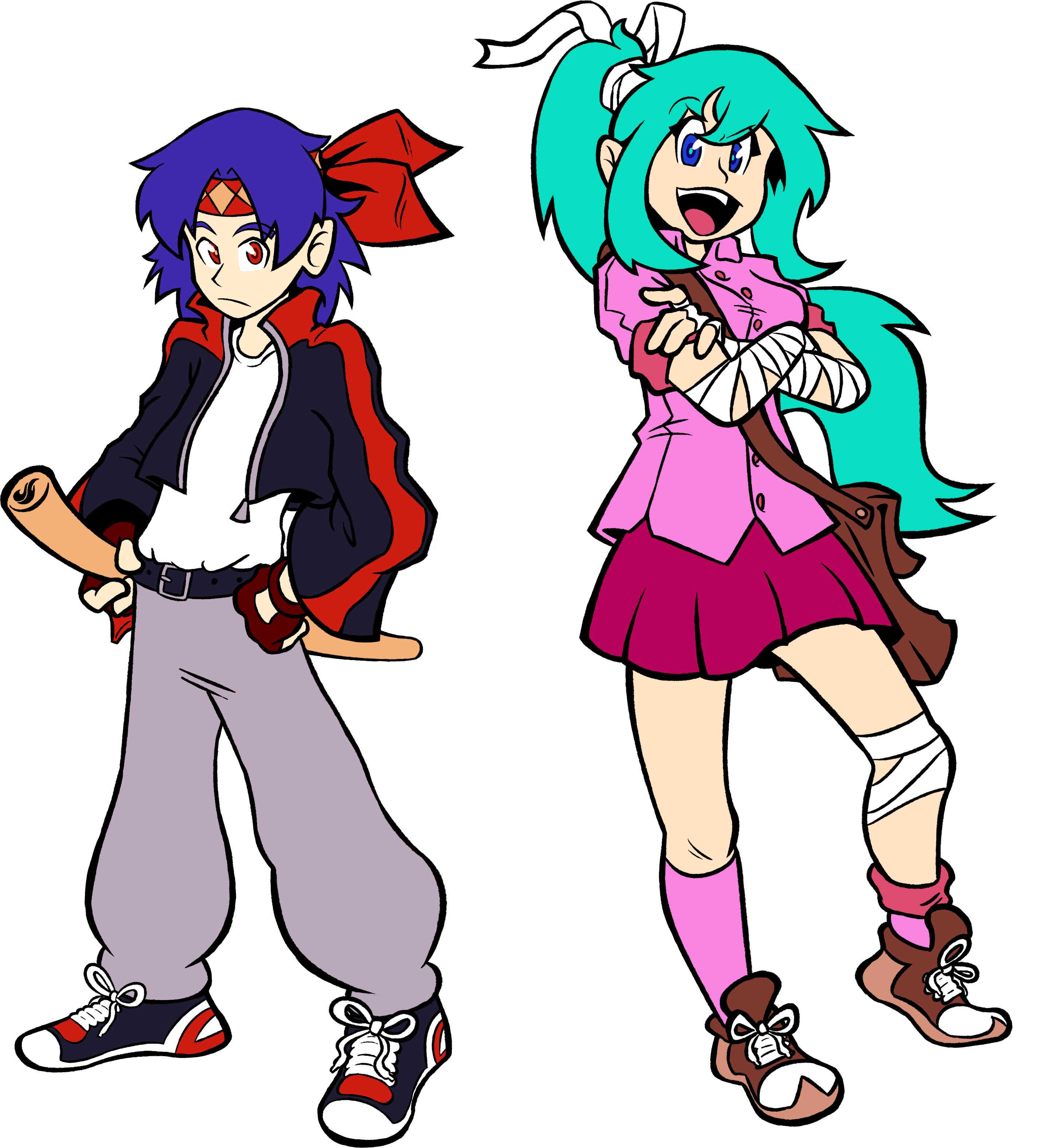 Commission: Makoto And DeNette
