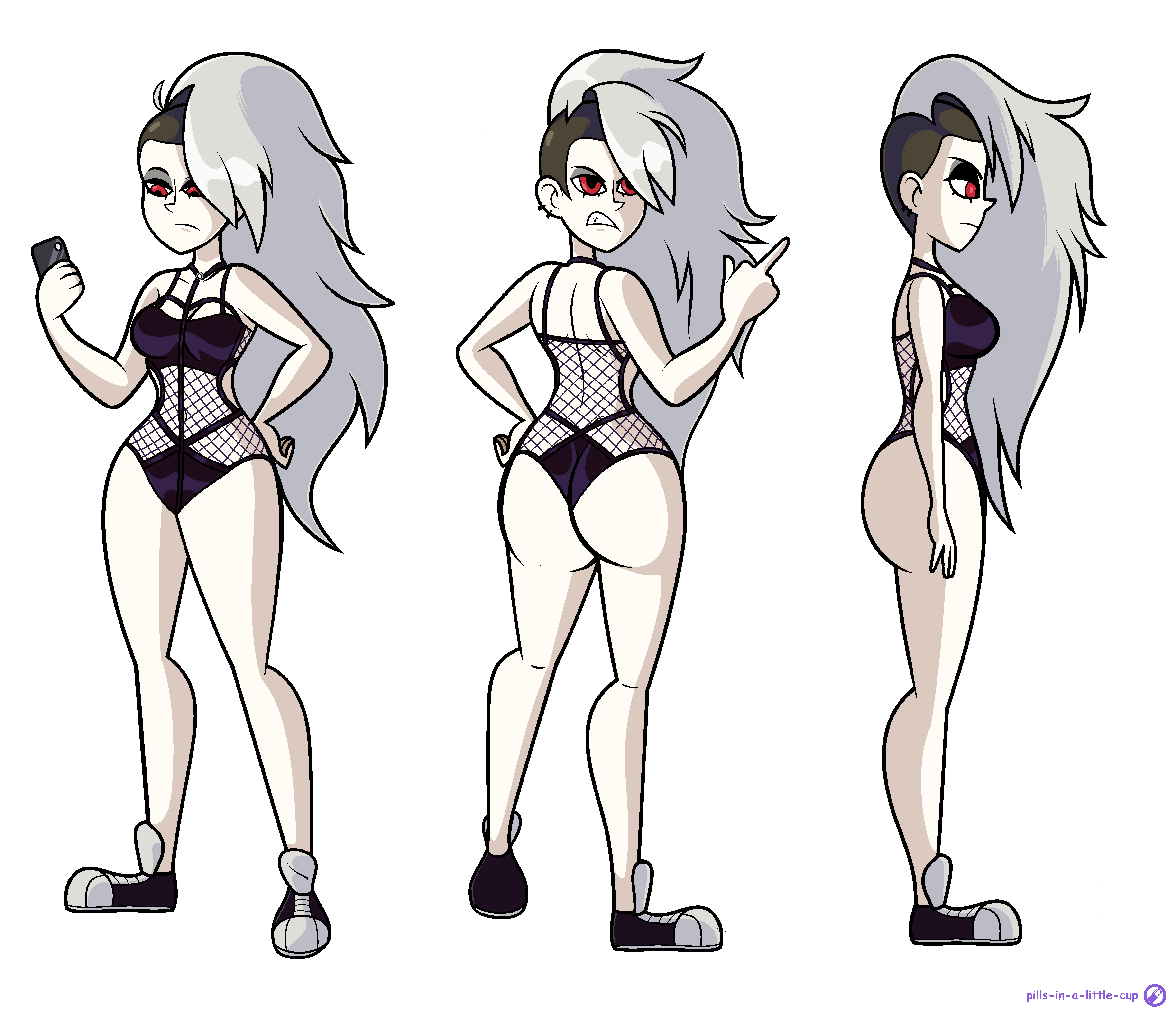Commission - Human Loona (Swimsuit)
