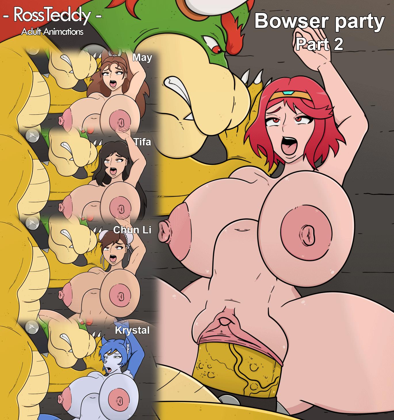 Bowser party PART 2