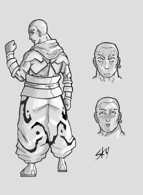 Vandy - Character Sheet