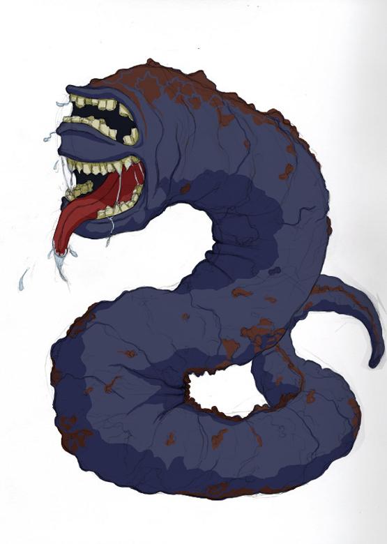 Crypt Worm