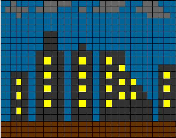 Pixle City (Before)