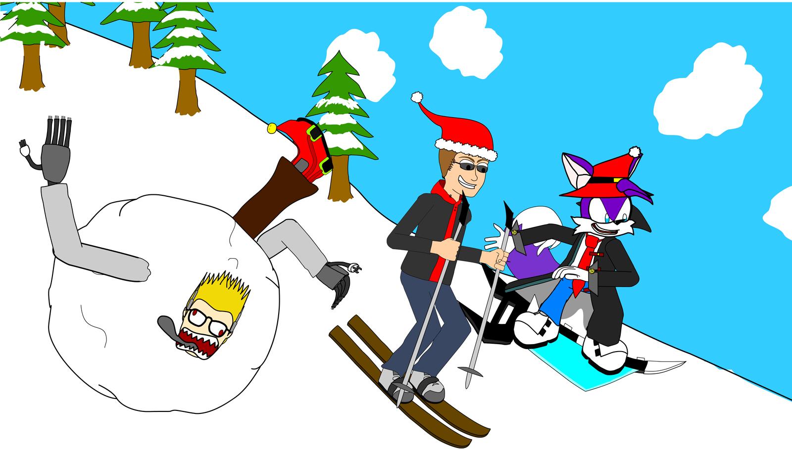 Lewtendo Ski Trip