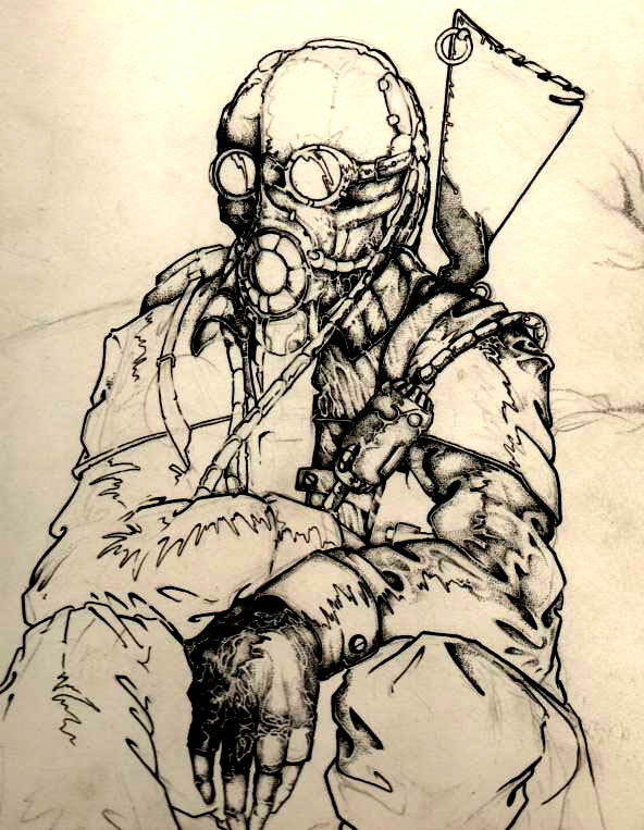 Post Apocalyptic Sketch