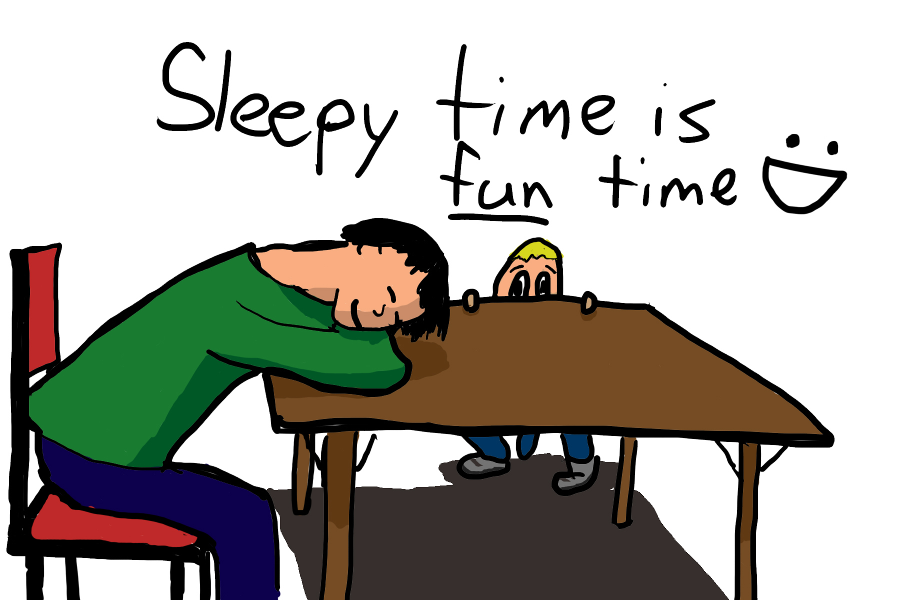 Sleepy Fun Time