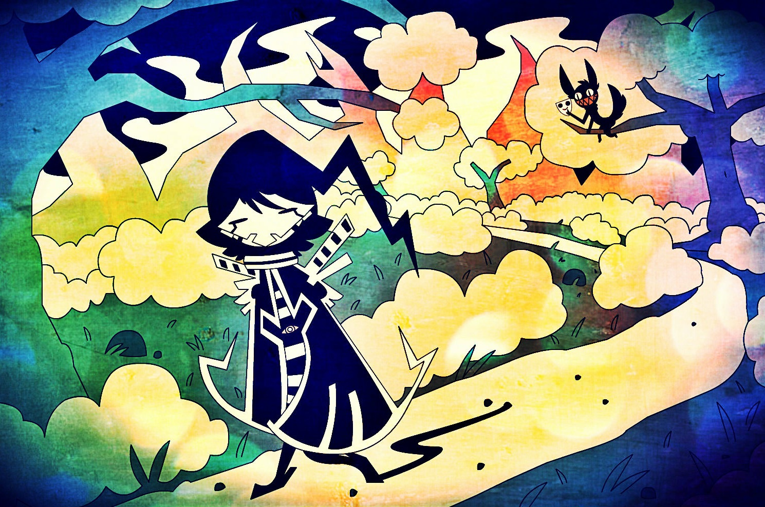 Lonesome Black Hood