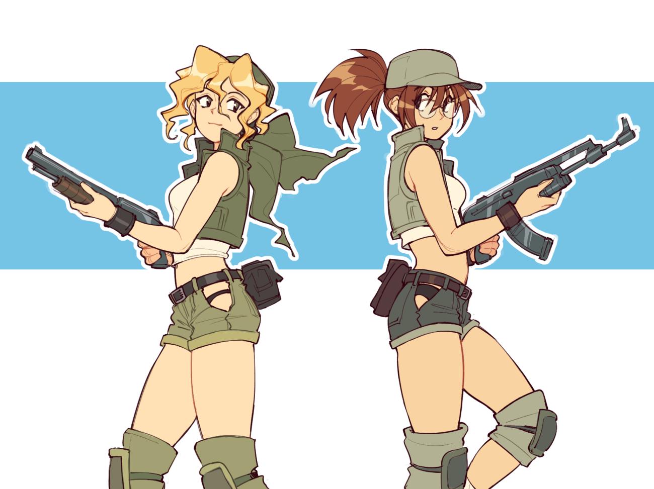 Metal Slug Girls