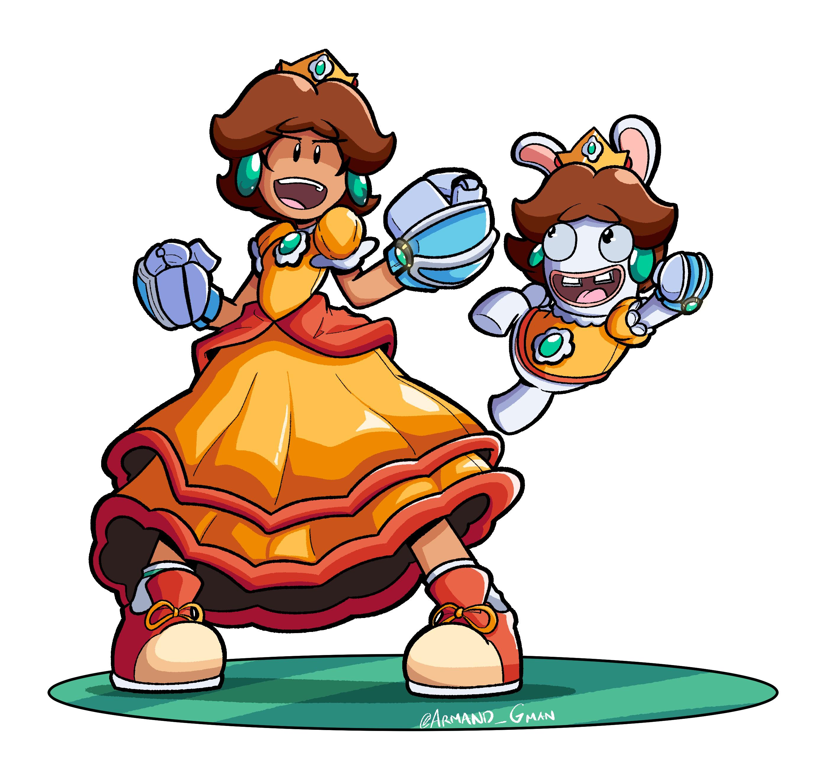 Daisy & Rabbid Daisy