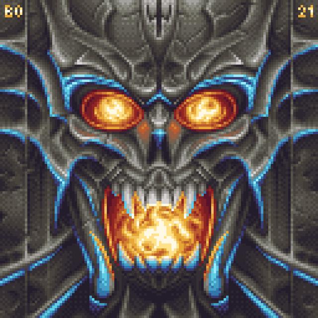 Metal face