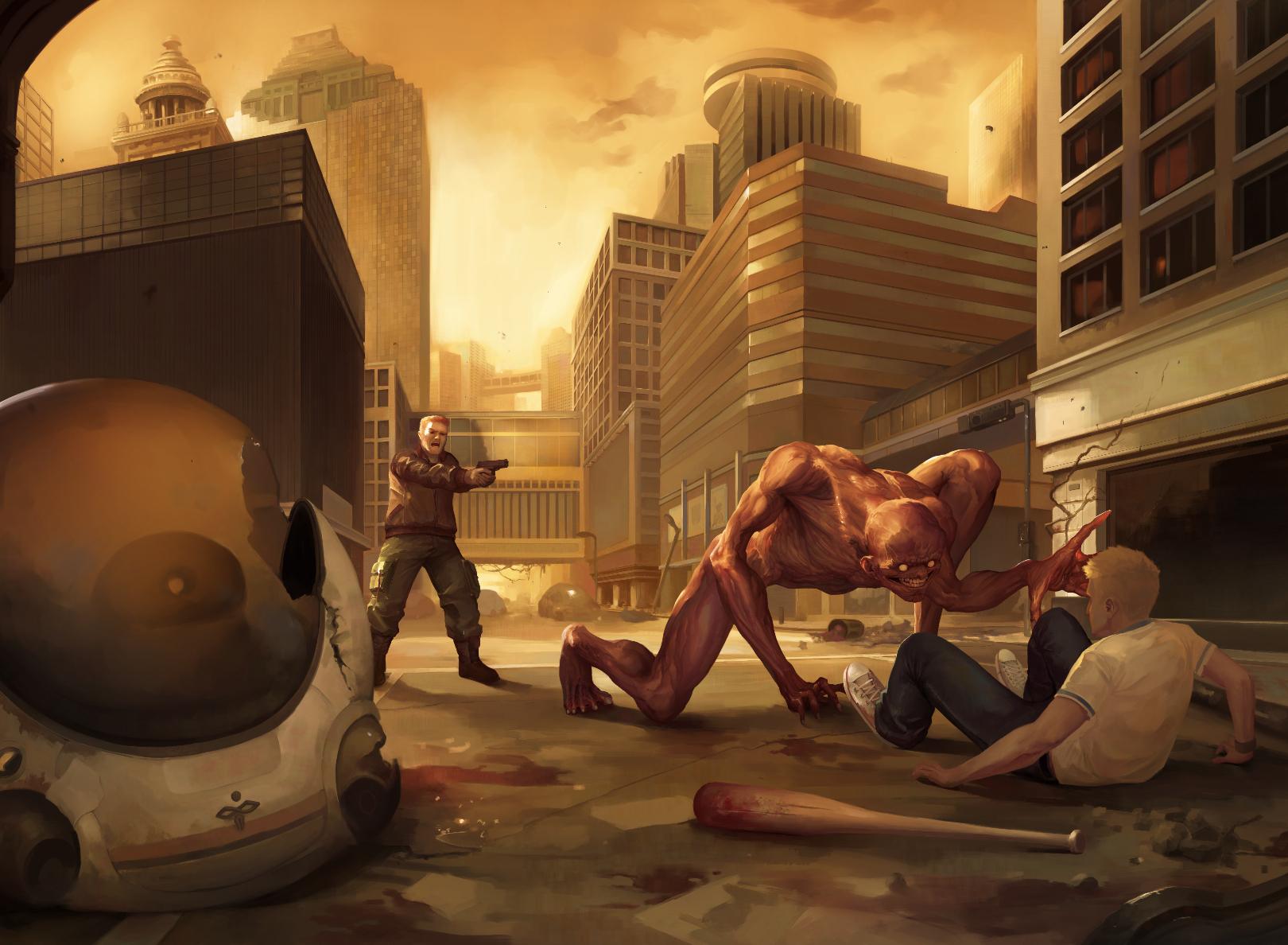 Mutagenesis: The New World - Cover Illustration
