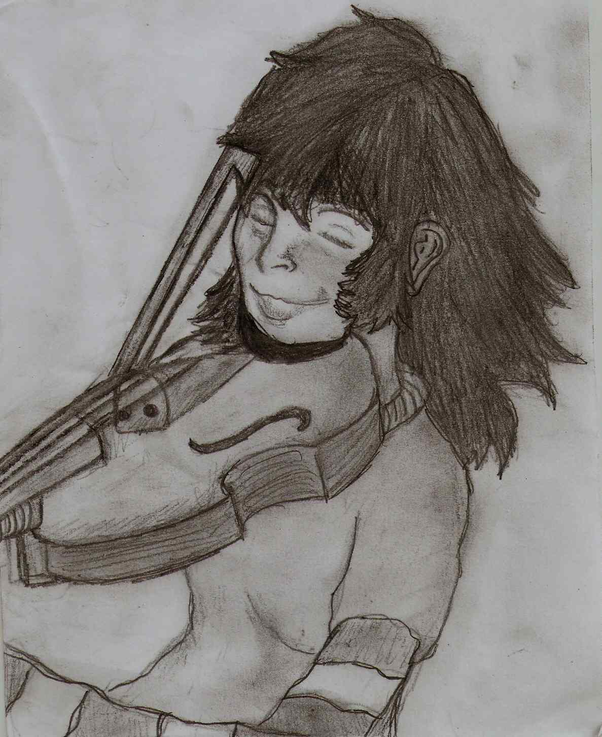 A Girl Whit A Violin