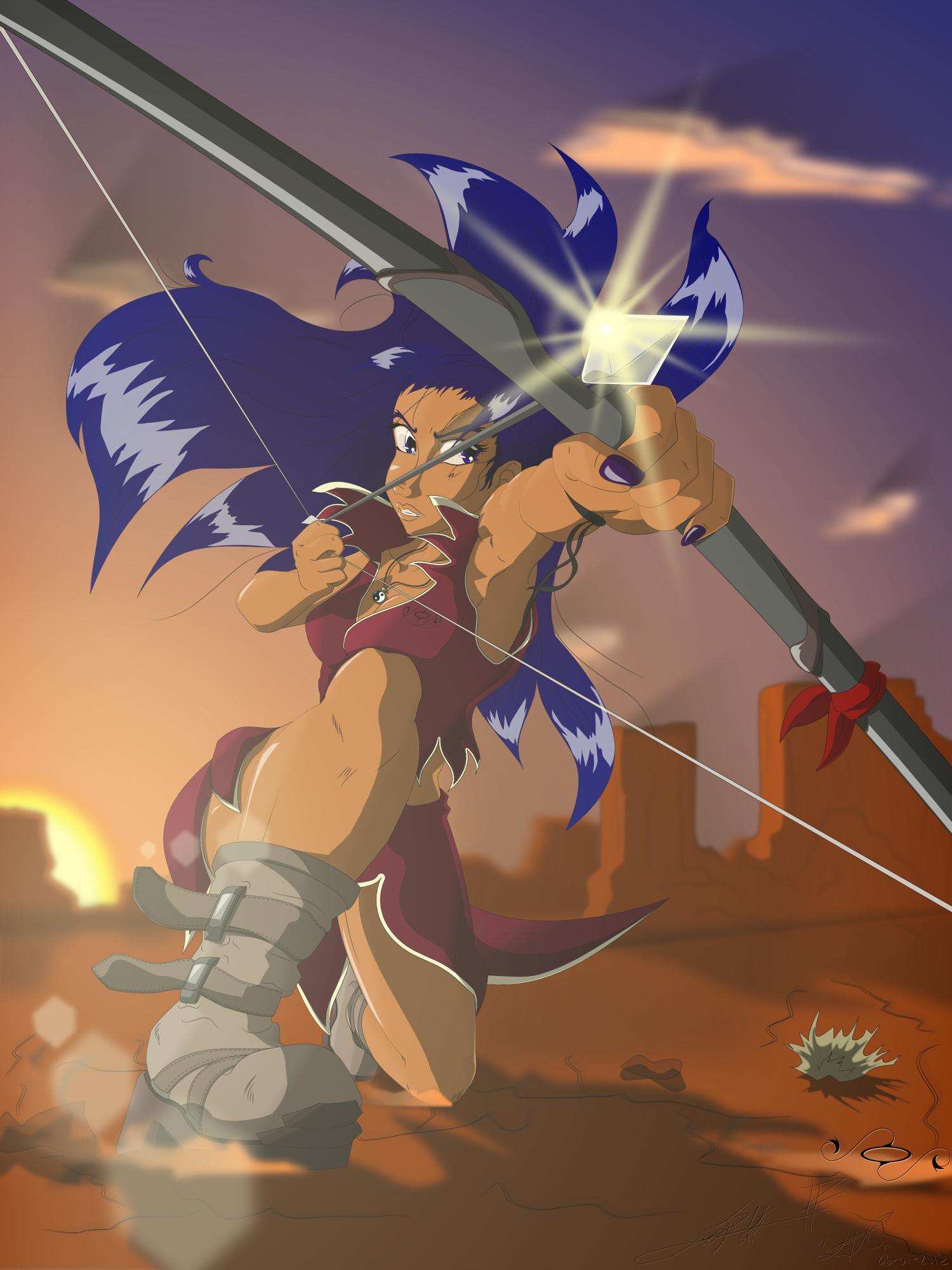 HS - Diana with bow and arrow