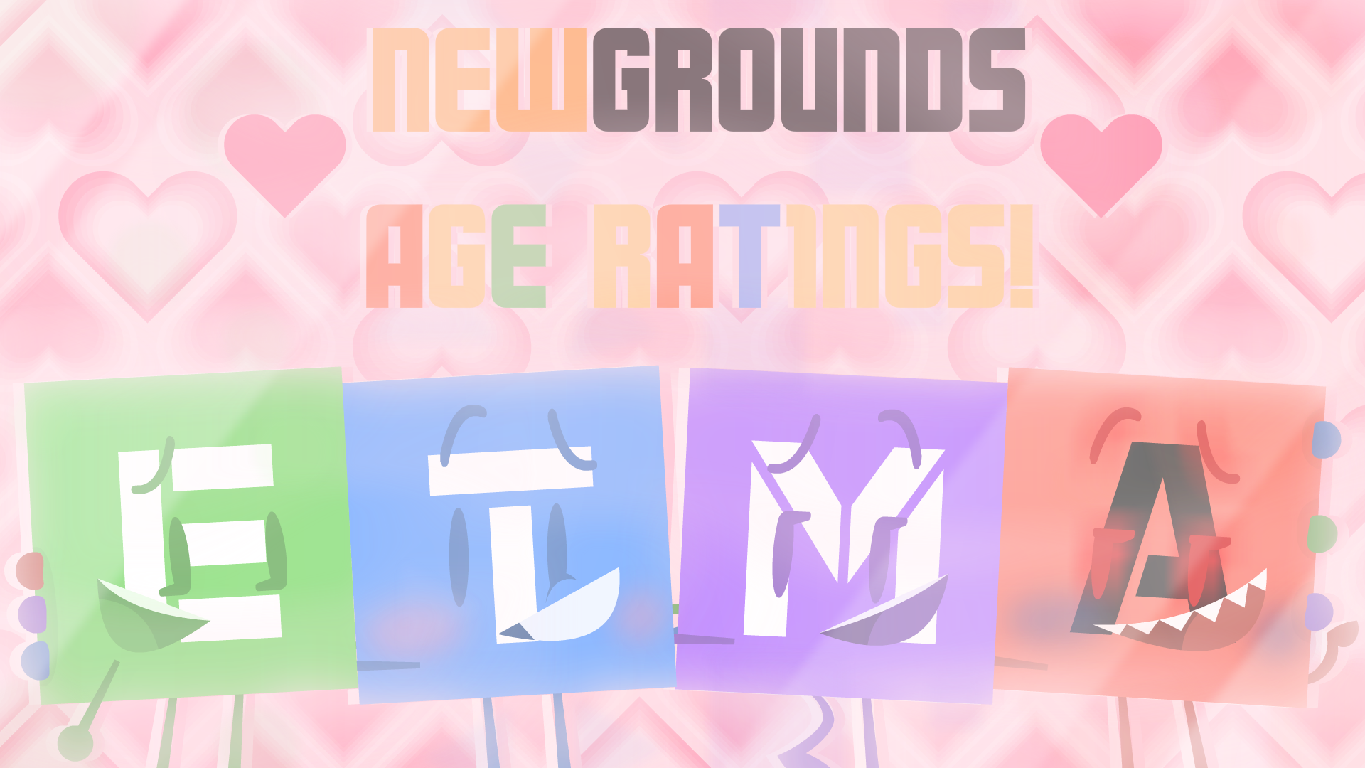 Newgrounds Age Ratings 20 (Family Edition)