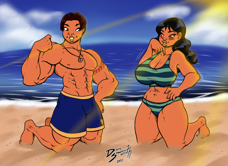 [Comm] Hawaiian Couple