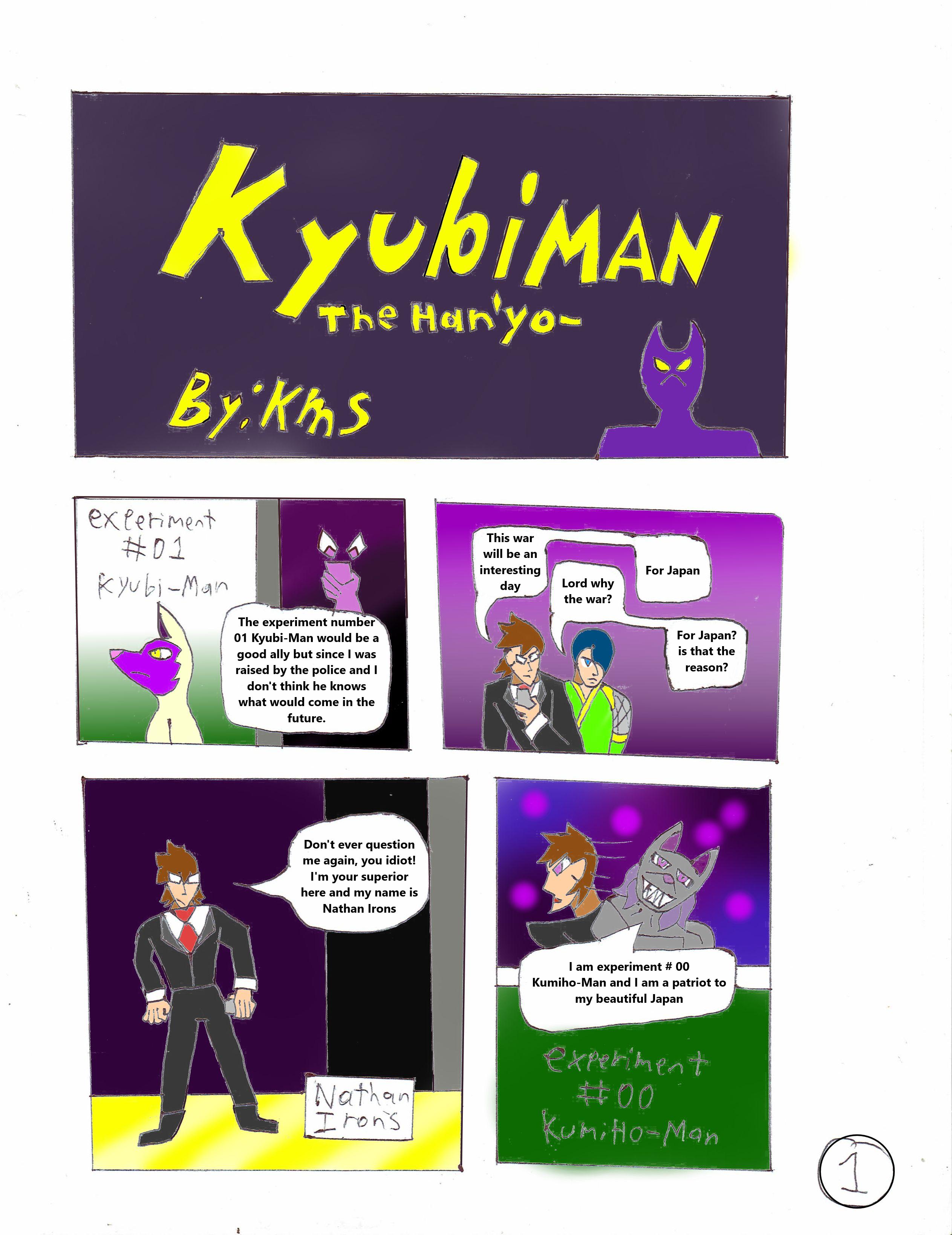 KyubiMan Chapter 1