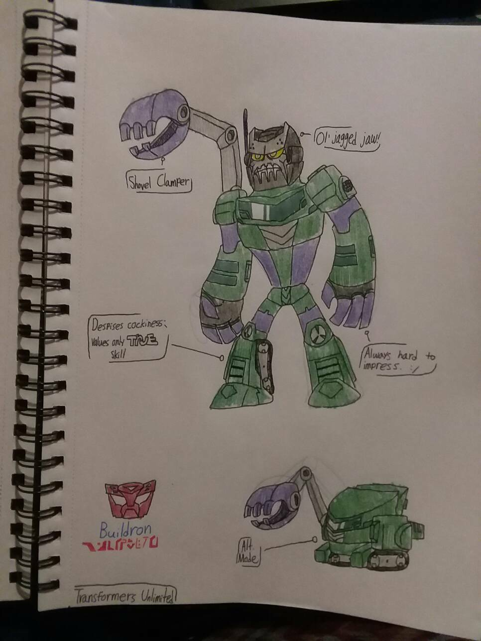Transformers Unlimited: Buildron