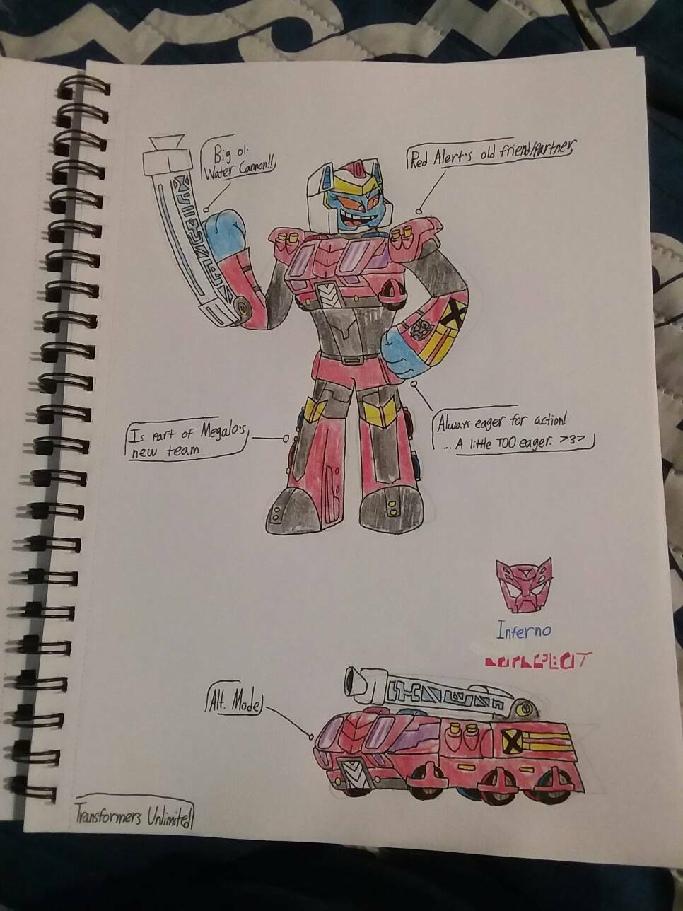 Transformers Unlimited: Inferno