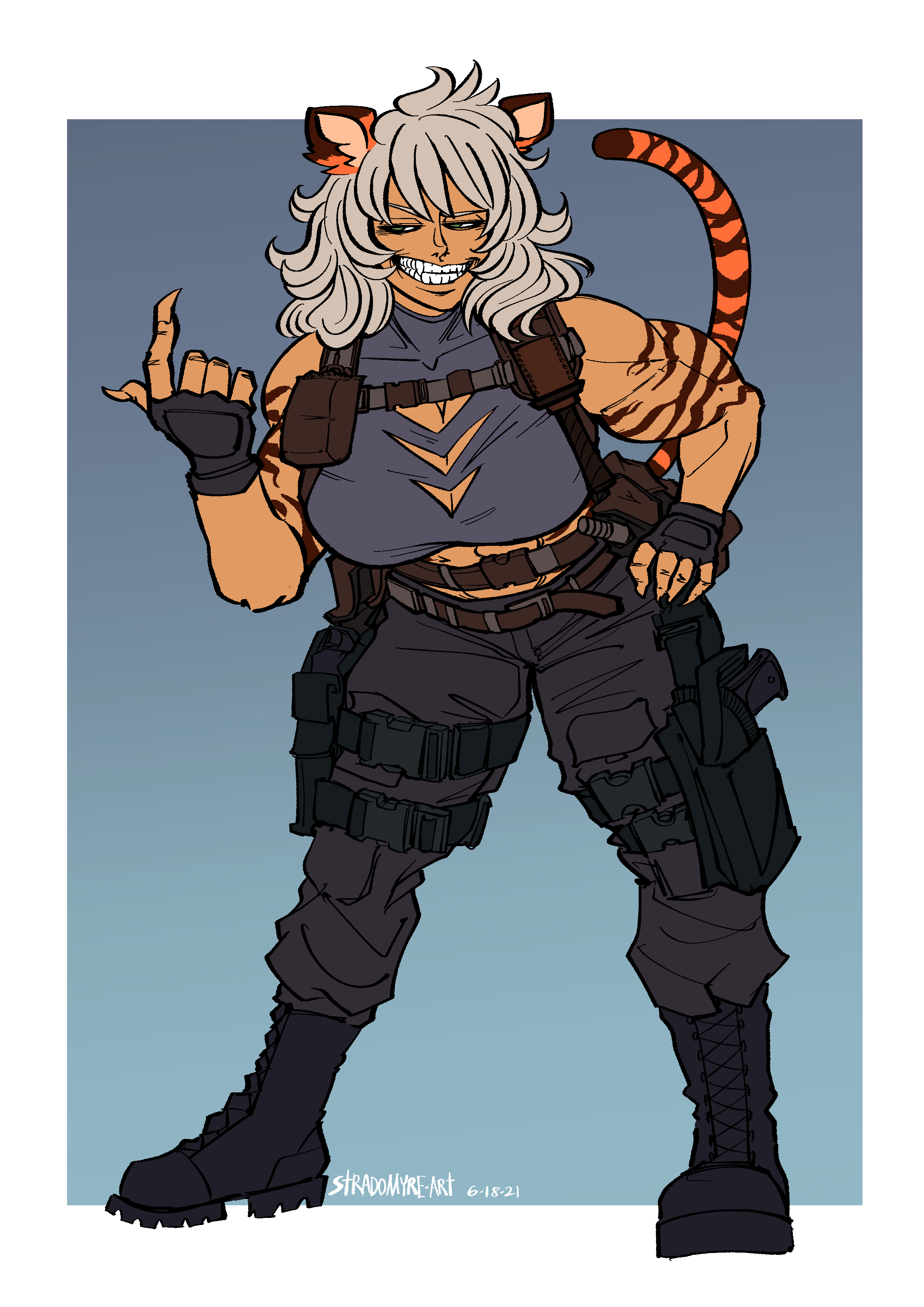 COMMISSION - Tactical Tiger