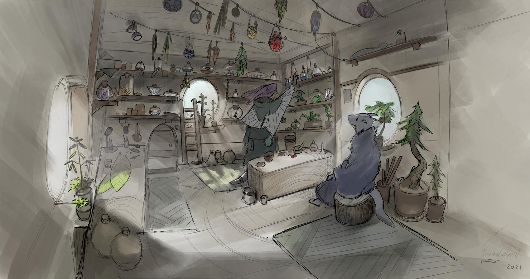 Shaman's workshop