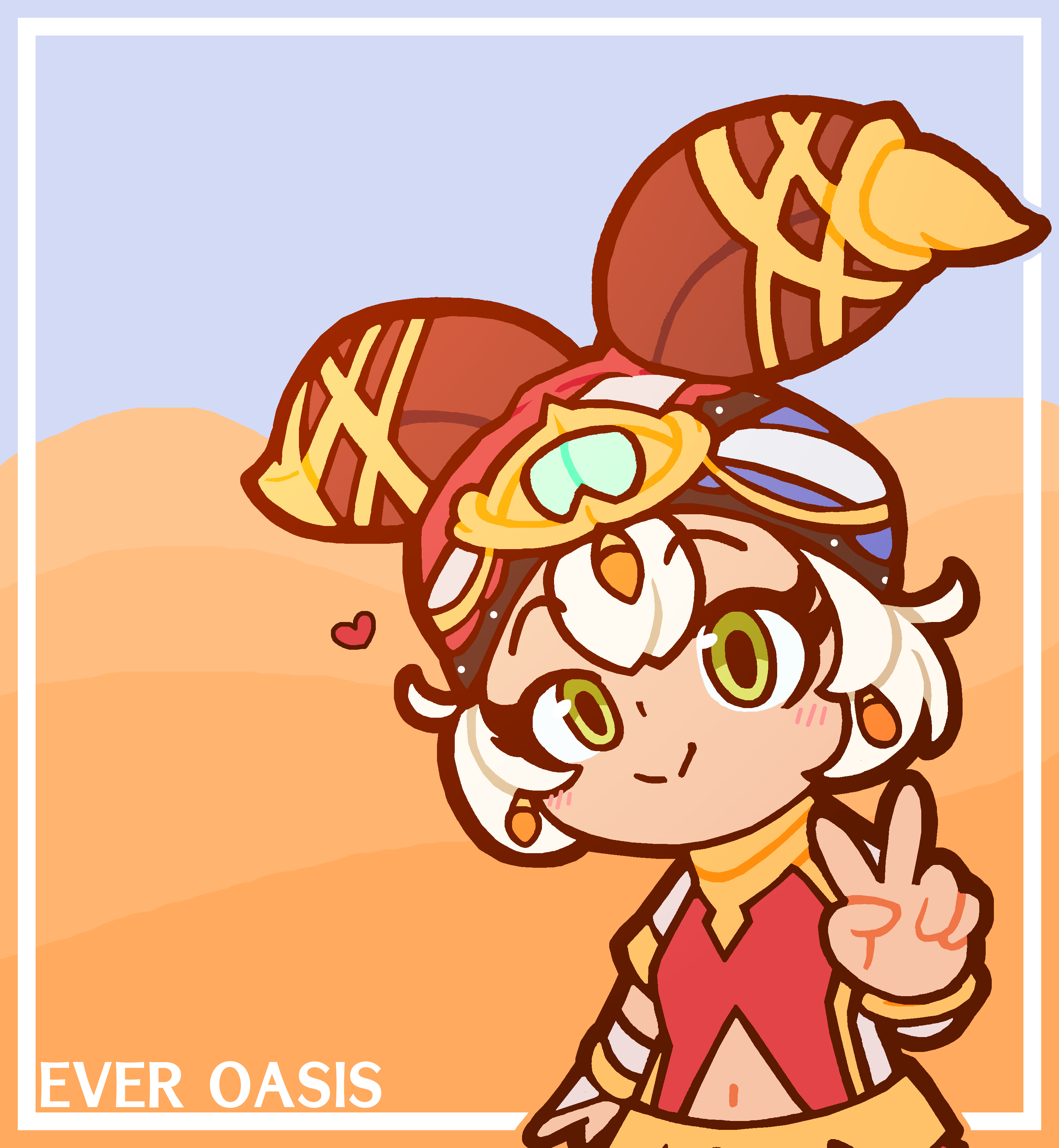 The Only Ever Oasis Fanart