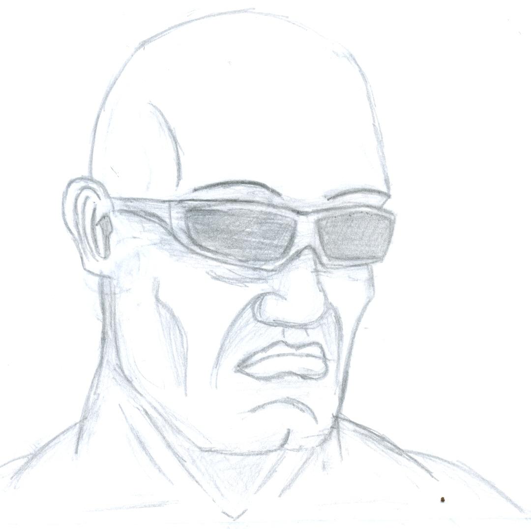Sun Glasses Man