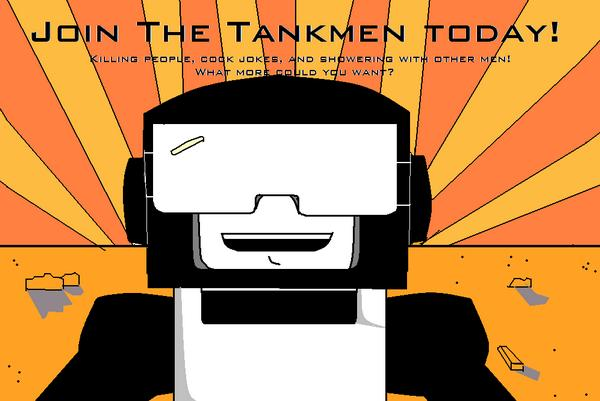 Tankmen Recruiting Poster