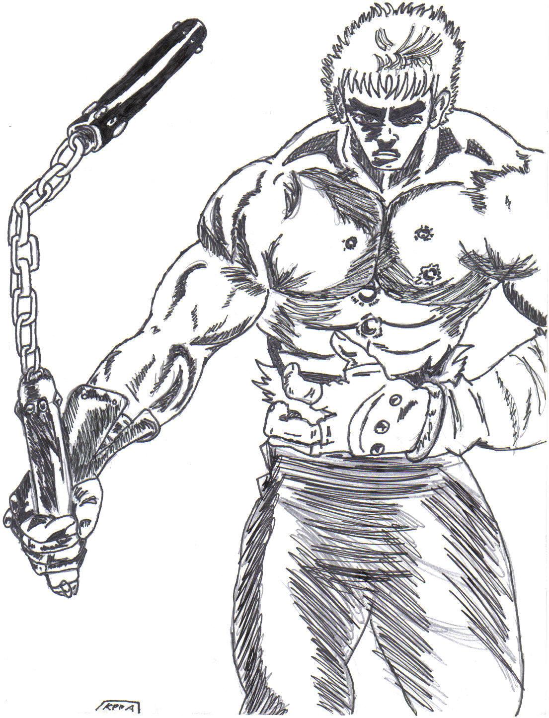 Hokuto no Ken Nunchaku