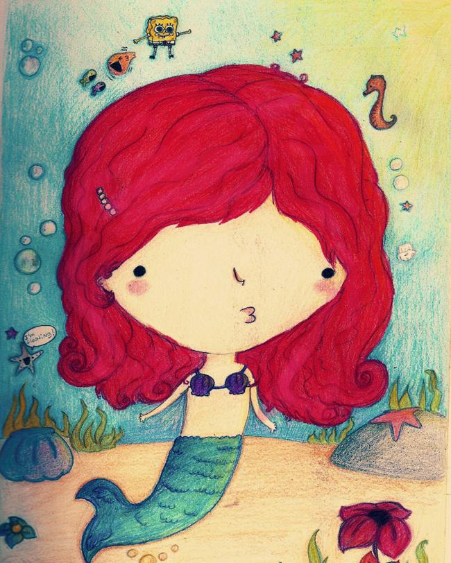 Mermaid like whoa