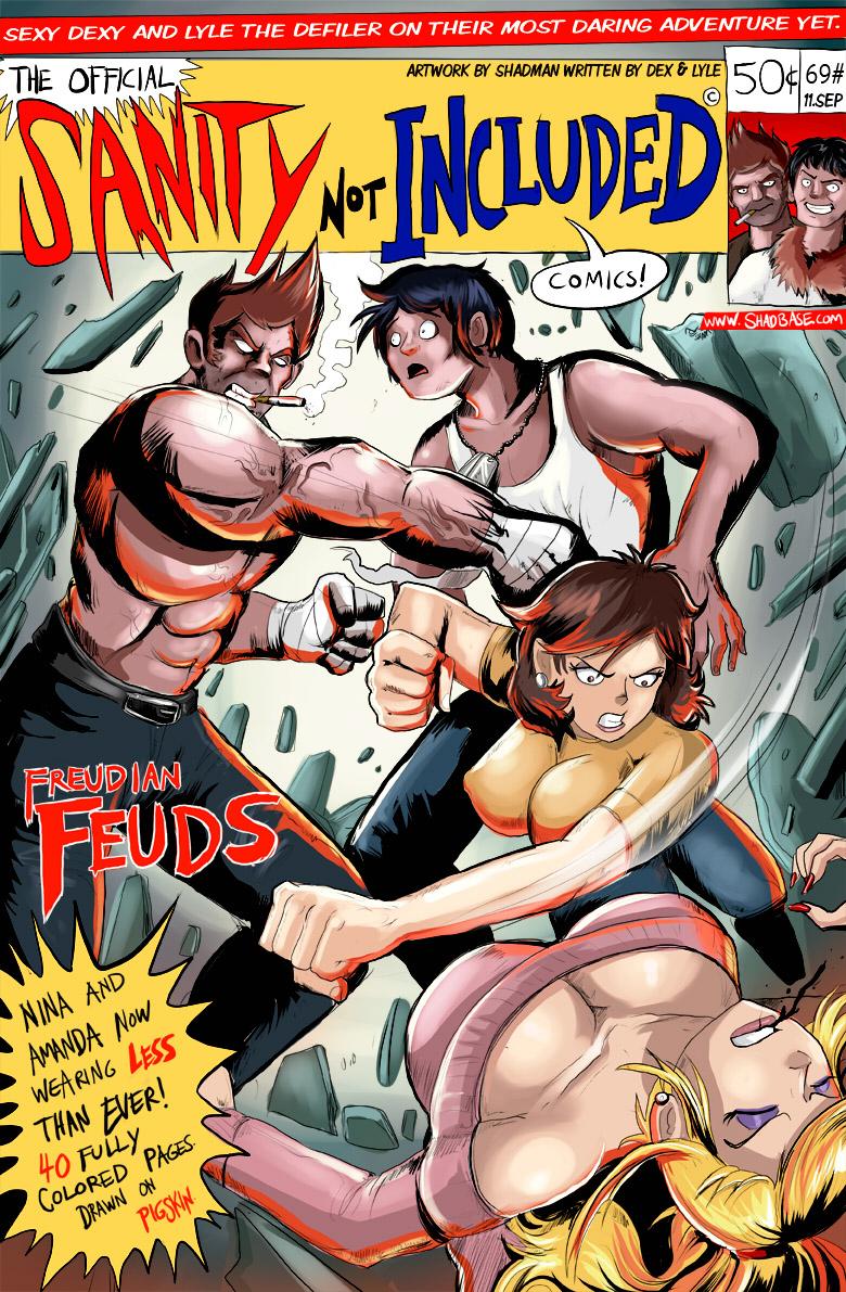 SNI Comic Cover
