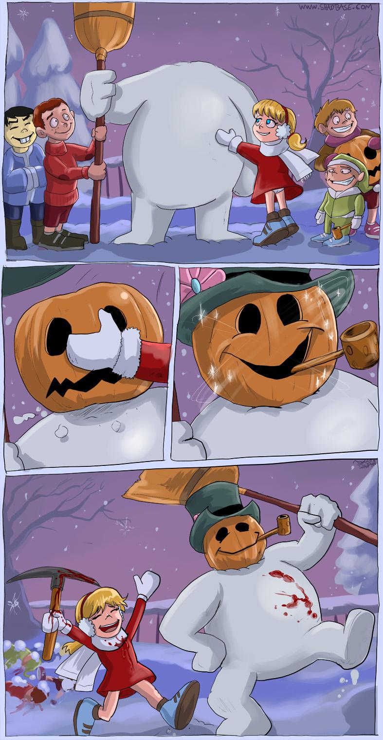 Frosty the Snow Golem