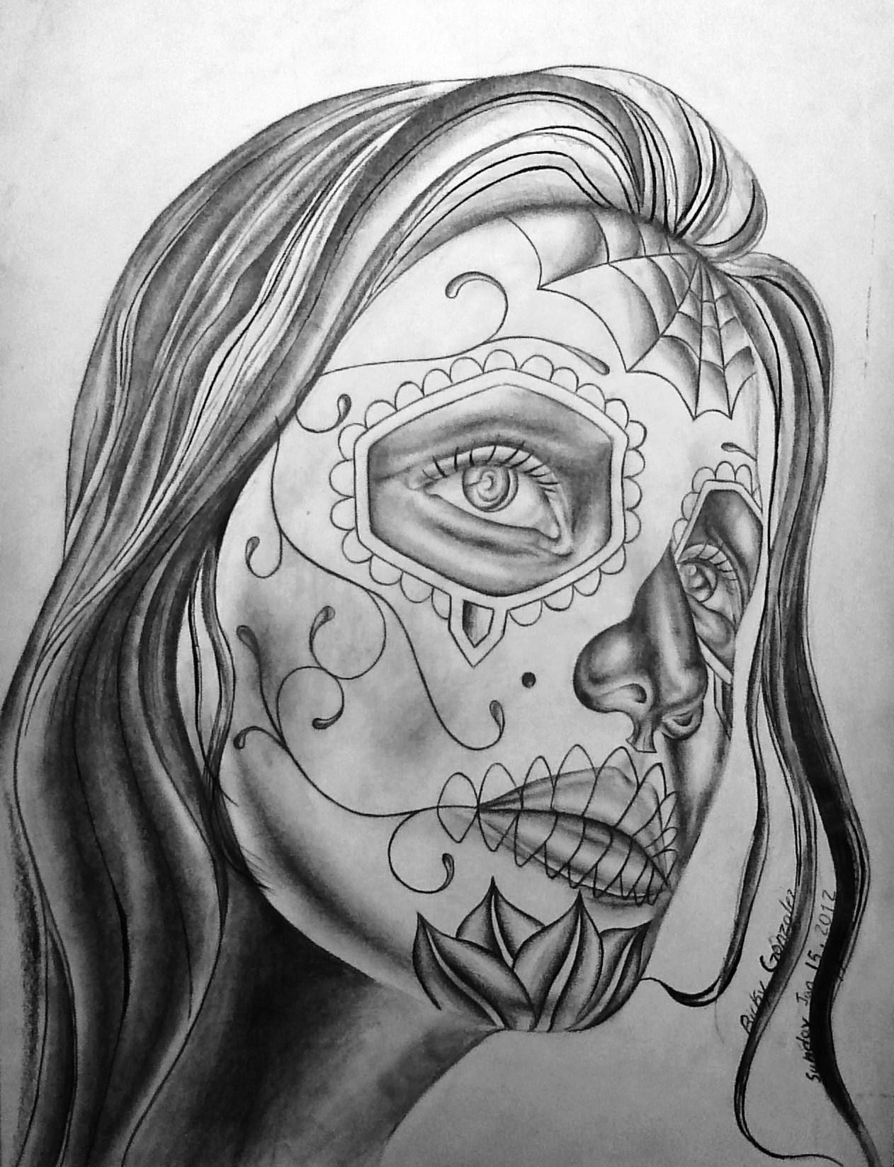 Dia de los muertos girl 2