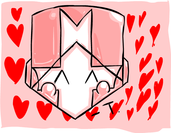The Pink Knight