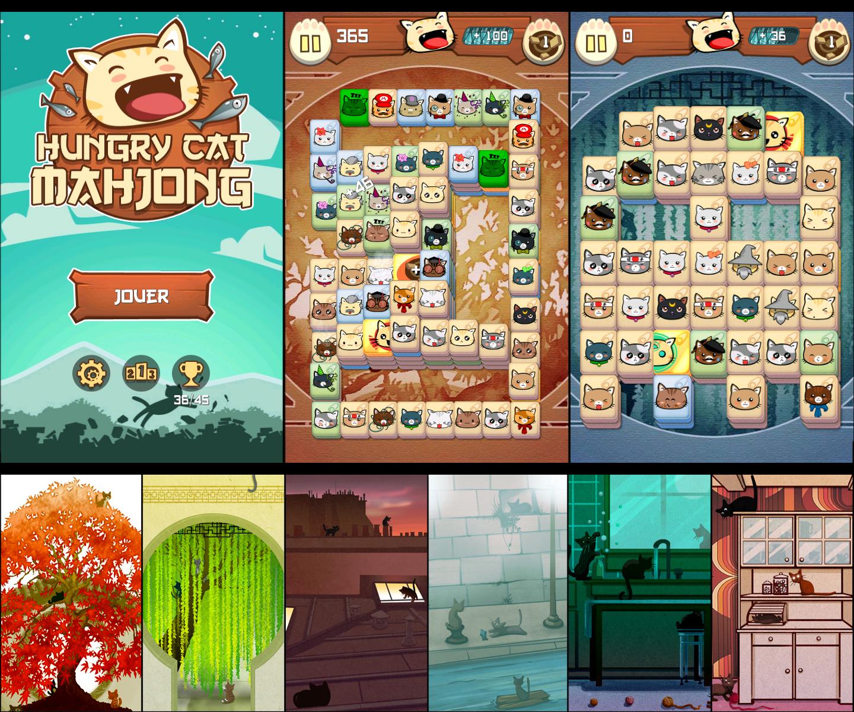 Hyngry Cat Mahjong