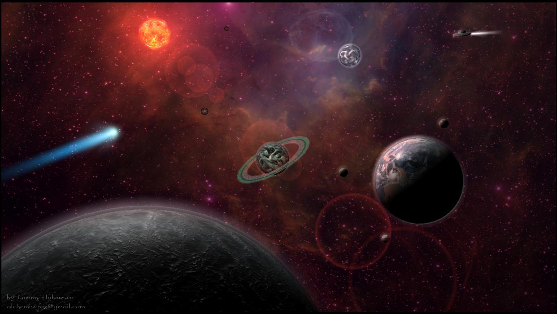 Solar system - Photos