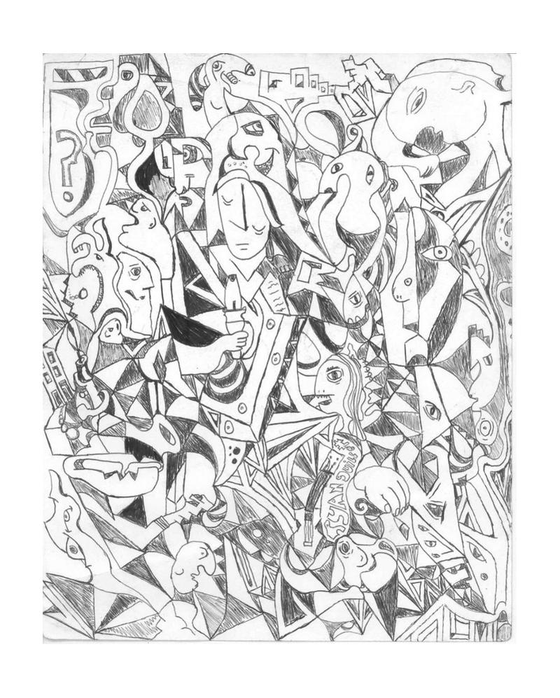 piccaso sketchs