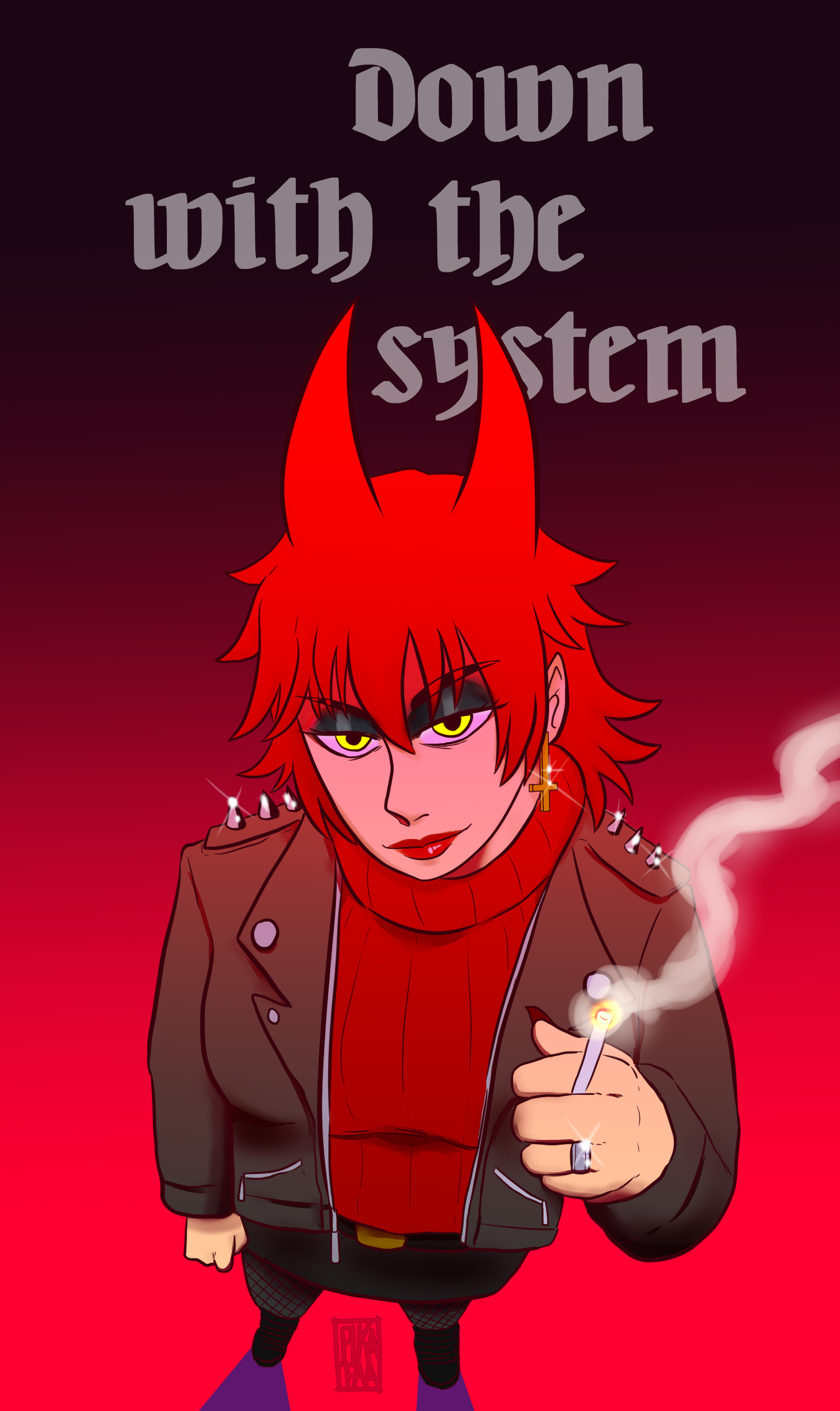 Down with the system