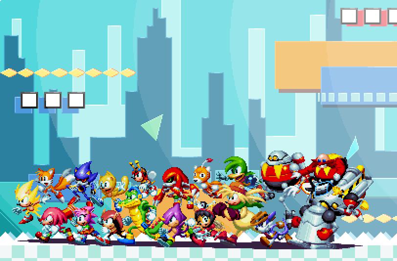 Super Duper Ultra Instinct Complete Sonic Mania Fanart