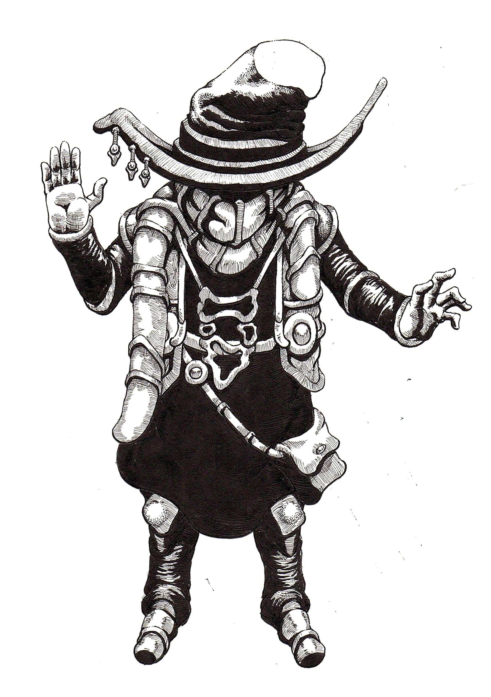 Big Hat Magician