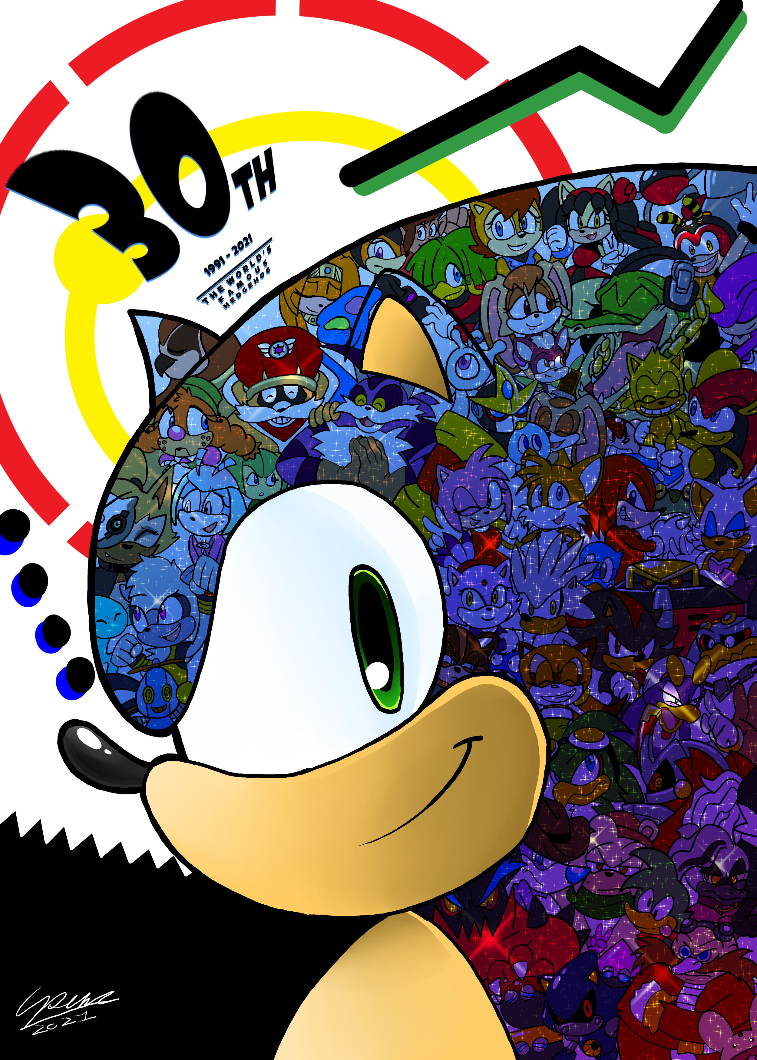The world's Famous Hedgehog - Sonic's 30th