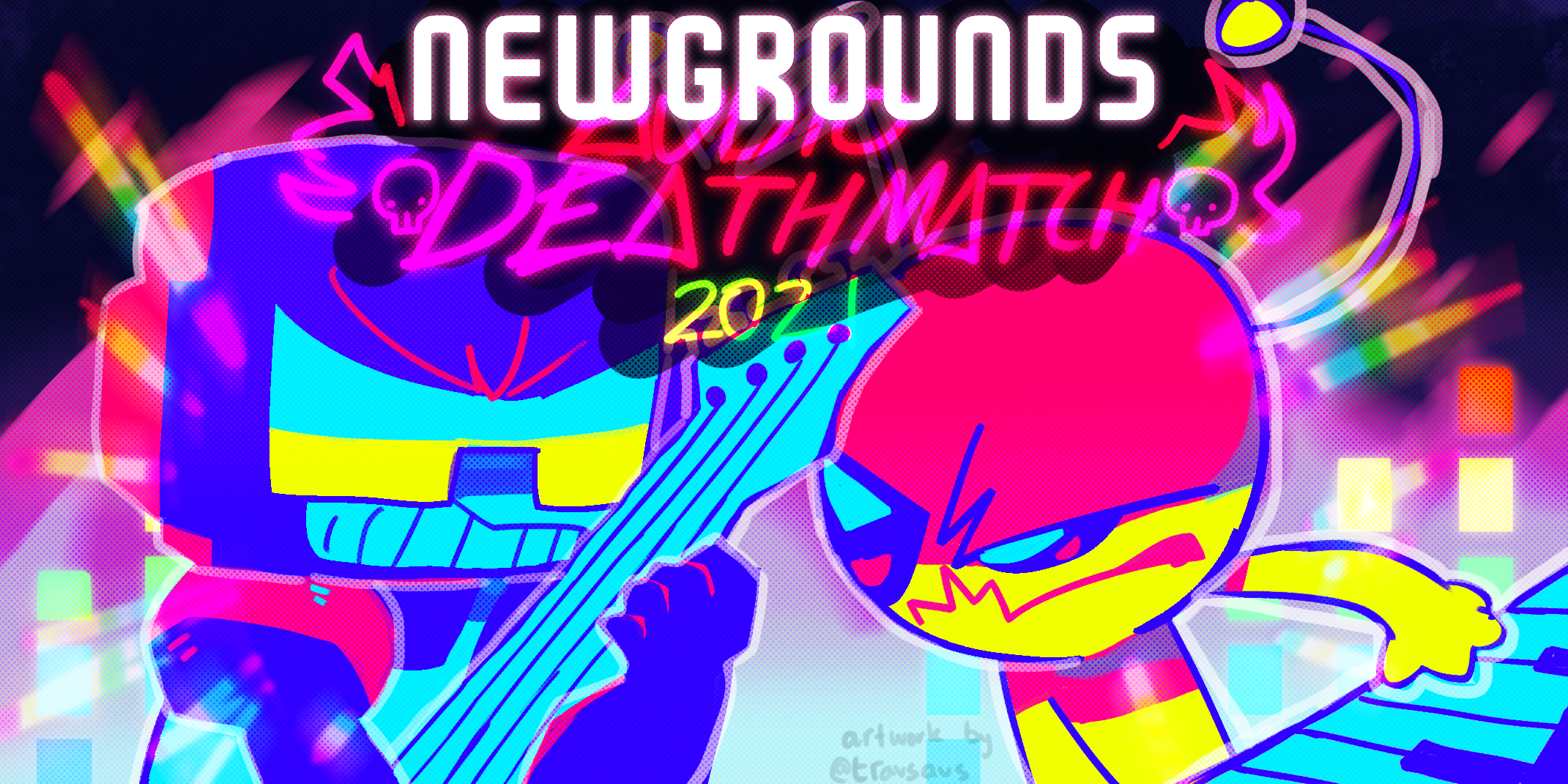 NG Audio Deathmatch 2021 Artwork
