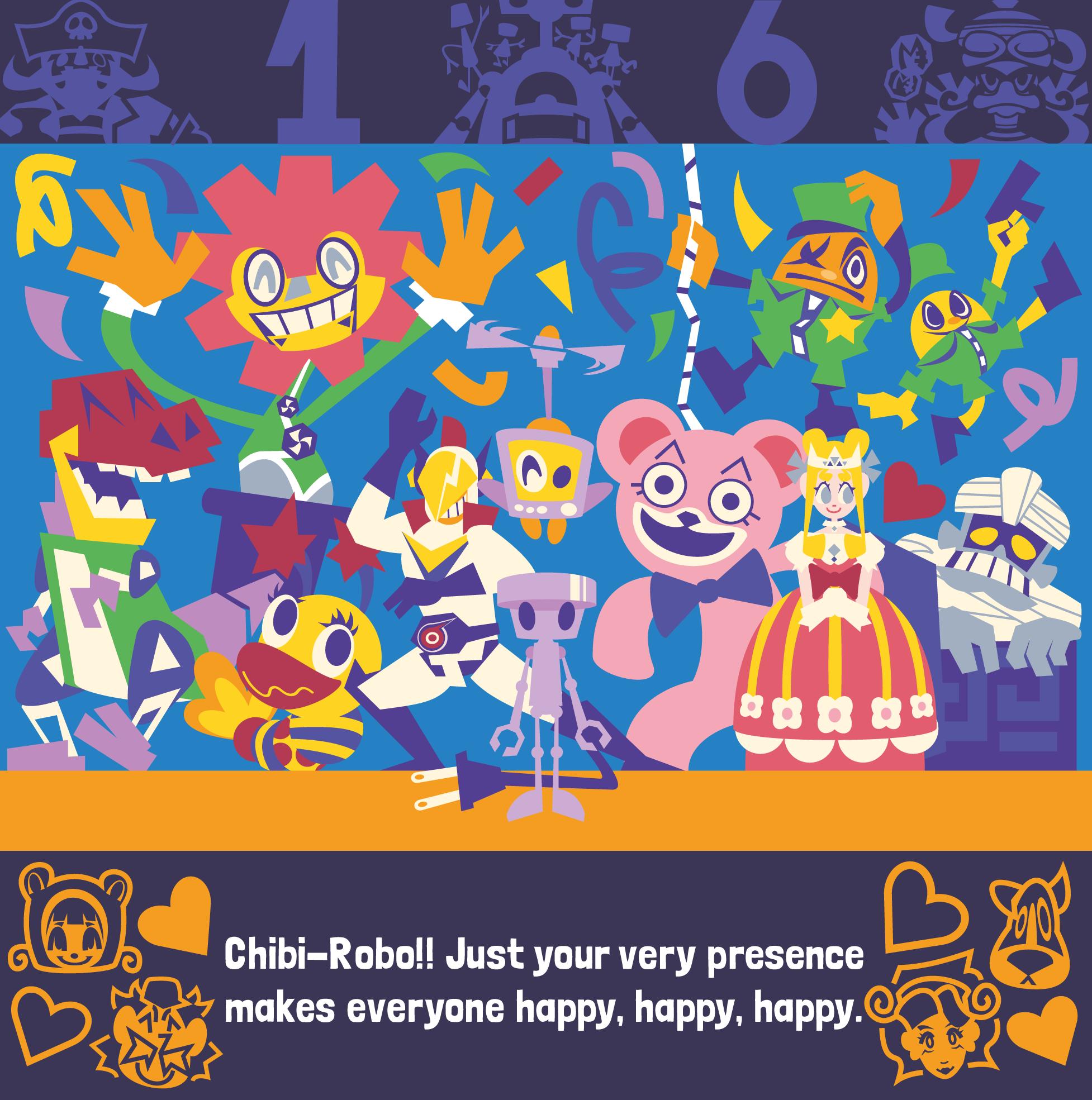 Happy Birthday, Chibi-Robo!!!