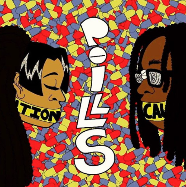 Kounterclockwise Poster for Pills The Mixtape