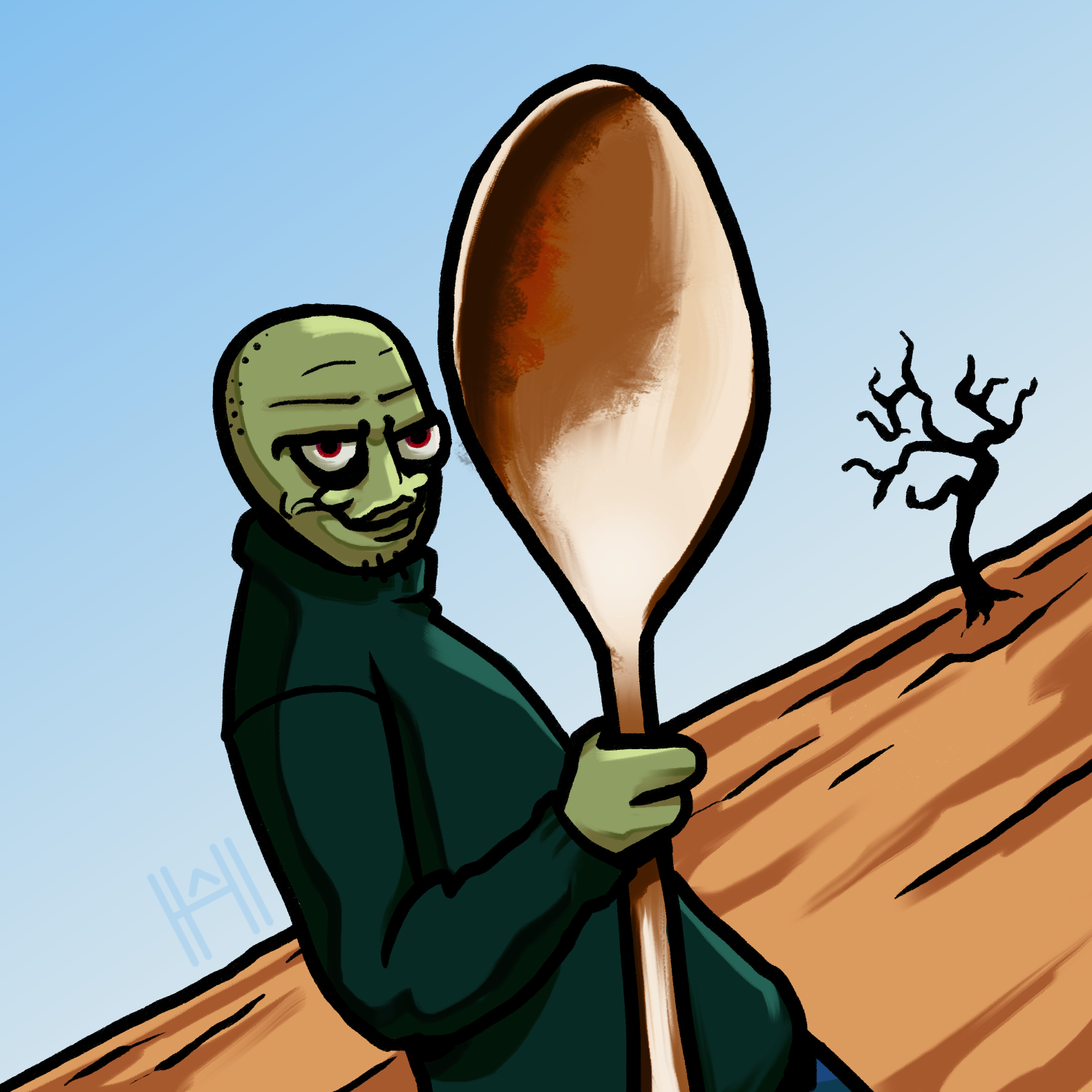 Day23: Salad Fingers