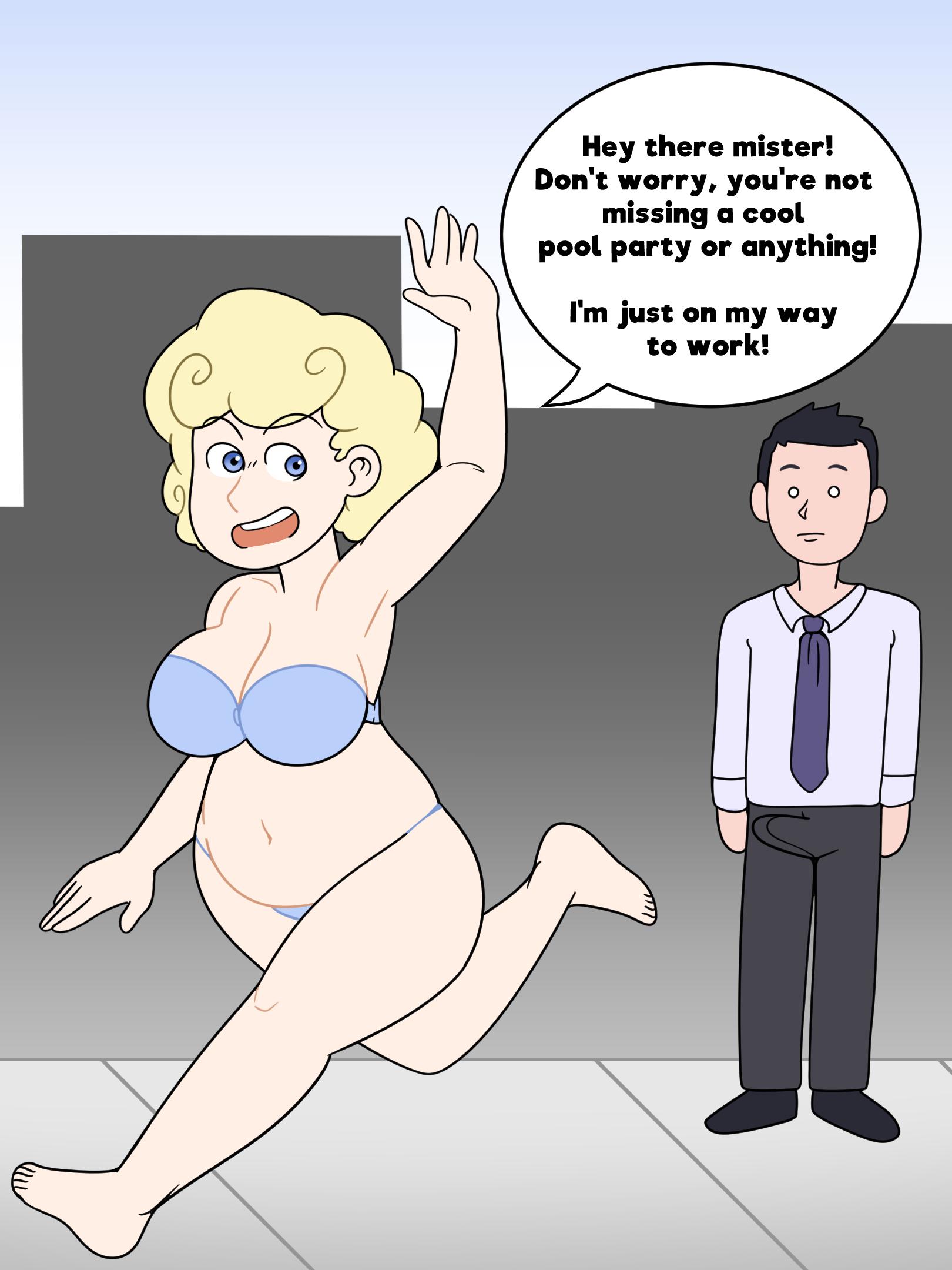 Business of Loving   Patty's New Wardrobe