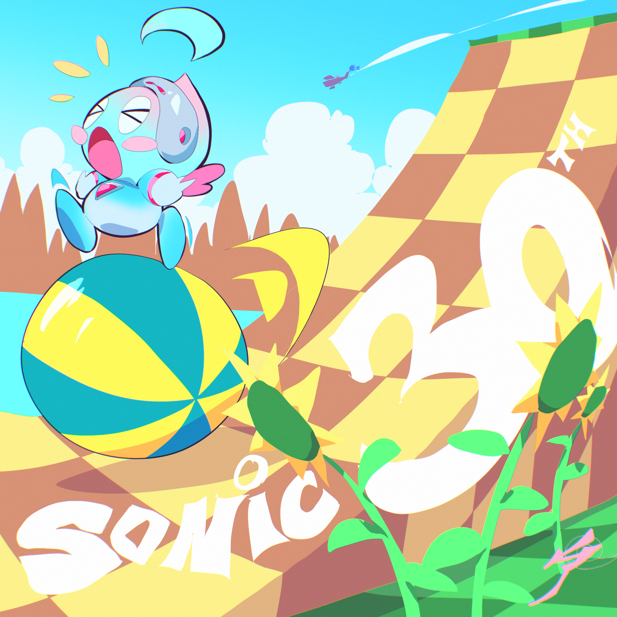 Space Chao Sonic 30th