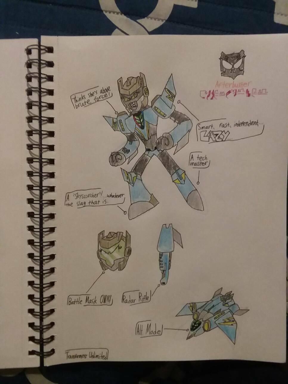 Transformers Unlimited: Afterburner