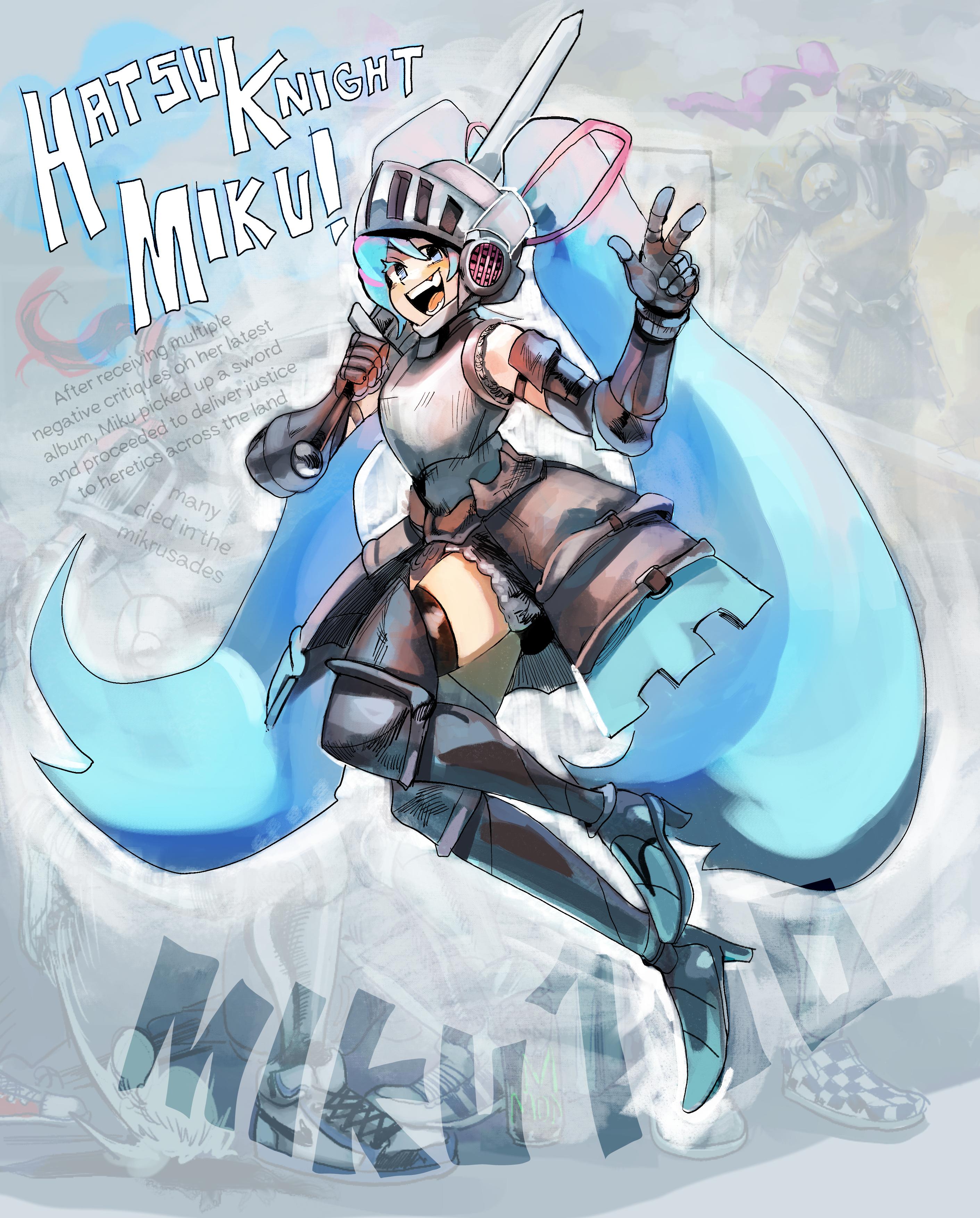 HatsuKnight Miku